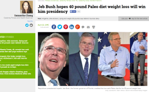Jeb Bush Weight Loss